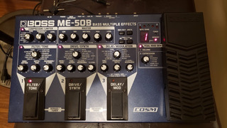 Multiefecto Bajo Boss Me50b Espectacular¡¡¡ Pedalera