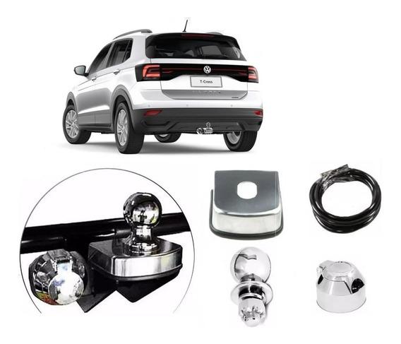 Engate Reboque Novo Volkswagen T Cross 2019 2020 Proteção