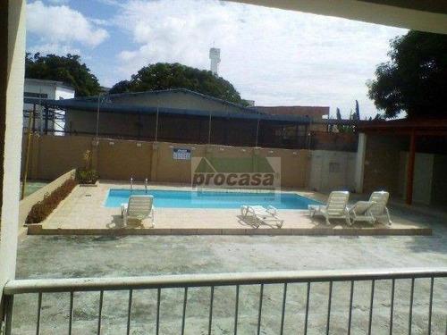 Imagem 1 de 14 de Ótimo Apartamento Com 3 Quartos, Em Condomínio Fechado, À Venda, 94 M² Por R$ 265.000 - Japiim - Manaus/am - Ap3276