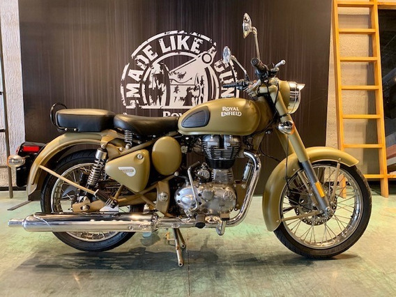 Royal Enfield Classic 500 Euro 4 Desert Storm
