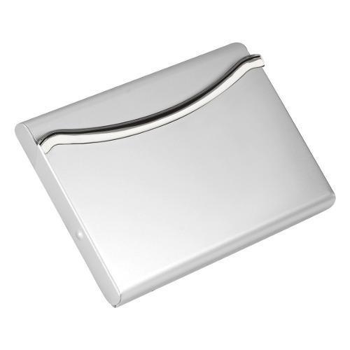 Tarjetero O Porta Tarjetas Aluminio Praz Con Envio