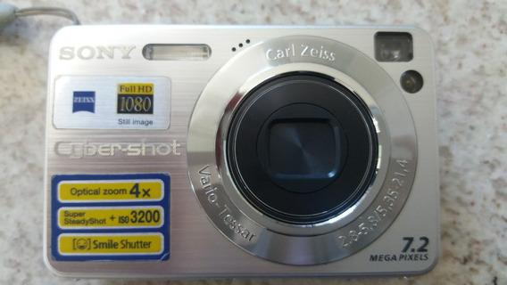 Câmera Digital Sony Cyber-shot Dsc-w120 - Full Hd-7,2mpixels