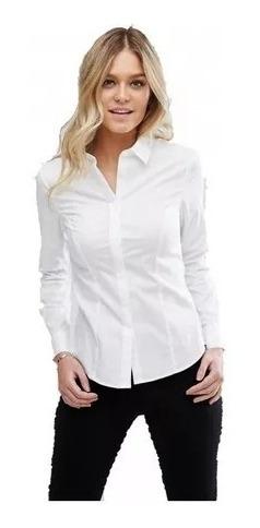 e78a97343b46 Camisa Blanca Fiesta Mujer - Ropa y Accesorios en Mercado Libre ...