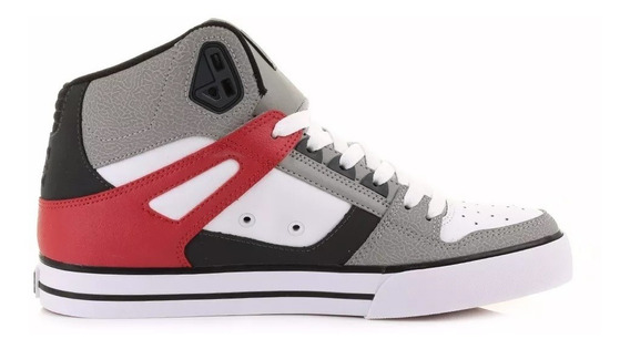 Zapatilla Spartan High Grf Grey Dc Niño