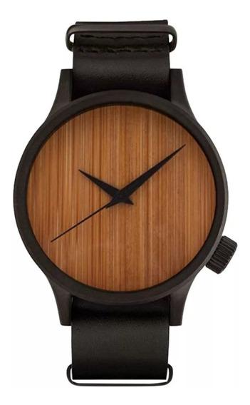 Relógio Madeira Woodz