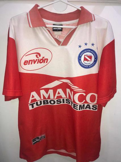Camiseta De Argentinos Juniors Envion Años 90 Jugador 6