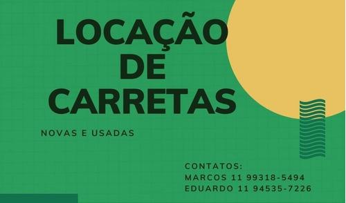 Aluguel De Carretas Baú Sider Usada Nova