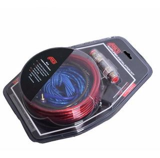 Kit Cables Para Amplificador Y Subwoofer 1500w Auto / Karvas