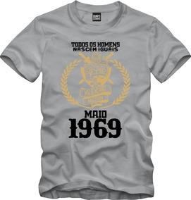 Camisa Os Melhores Homens Nascem Em Maio 1969 Data 005