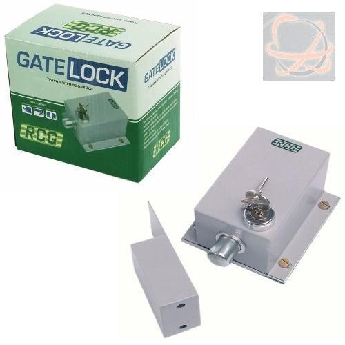 Kit 2 Travas Gatelock Rcg + 2 Suportes Trava Ipec