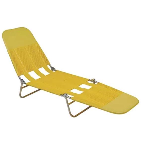 Cadeira Espreguiçadeira Mor Pvc Sport