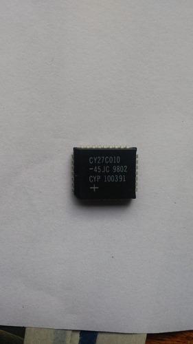 Imagem 1 de 1 de Cy27c010-45jc= 27c010 Plcc Circuito Integrado ( 2peças)