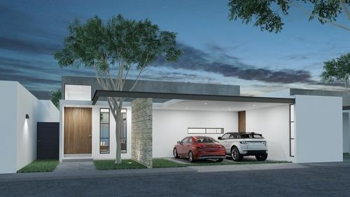 Casa Nueva De Una Planta En Venta, Mirova Modelo 5, Dzitya, Mérida Norte