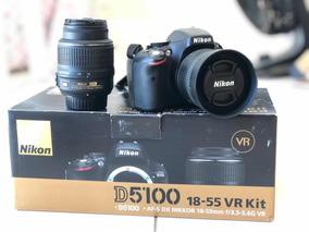 Câmera Usada Nikon D5100 - 18-55mm F/3.5, Lente 35mm F/1.8
