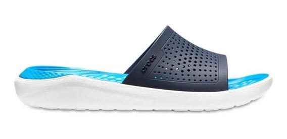 Crocs Sandalias - Literide Slide Navy