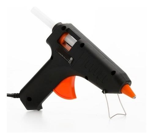 Pistola Encoladora Reforzada Megalite Metalica 50 W +2barras
