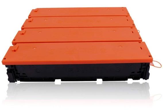 Pack 4 Toner Compatibles 201x Para M252 Mfp M277 Cf400x