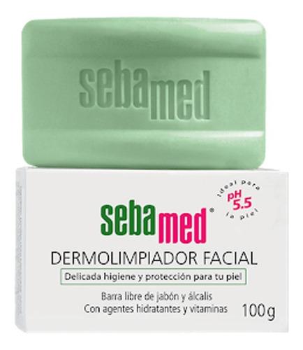 Barra Dermolimpiador Facial Sebamed 100g Todo Tipo De Piel