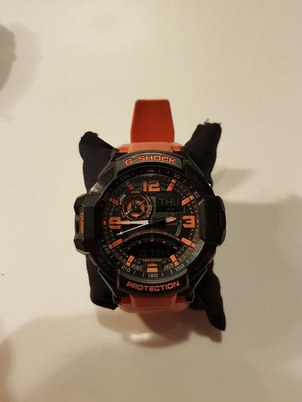 Relogio Casio G- Shock Laranja - Mod. Ga 5302