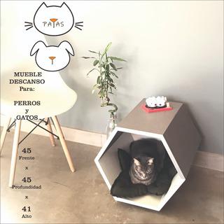 Cucha Abierta Para Perros Y Gatos - ( Patas Muebles )