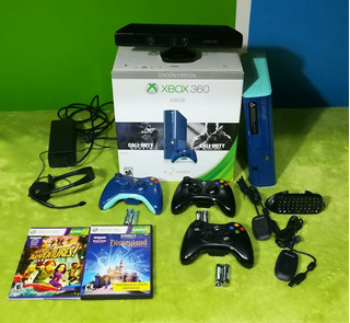 Xbox 360 Completa 3 Joystick Inalambricos Kinect 51 Juegos
