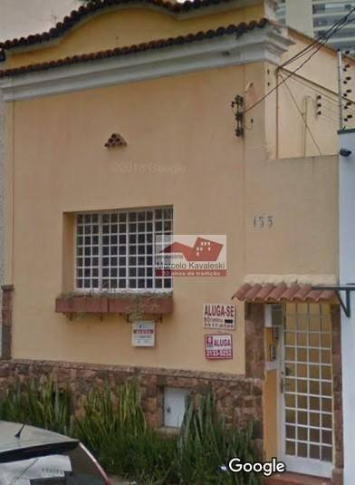 Sobrado Com 1 Dormitório Para Alugar, 120 M² Por R$ 2.750/mês - Vila Mariana - São Paulo/sp - So2177