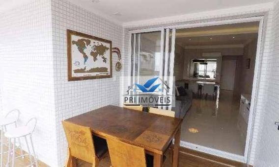 Apartamento À Venda, 116 M² Por R$ 957.000,00 - Pompéia - Santos/sp - Ap1211