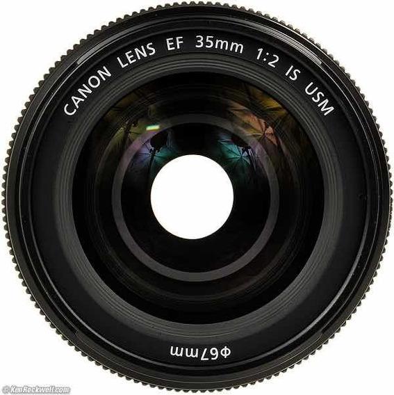 Lente Canon Ef 35mm2.0 Is