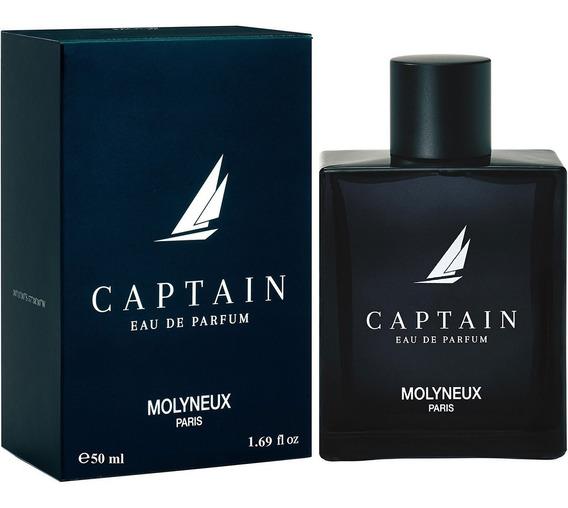 Molyneux Captain Eau De Parfum 50ml Masculino + Amostra