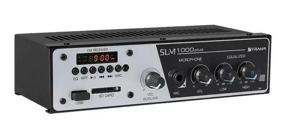 Amplificador P/ Som 35w Slim 1000 Plus - Frahm