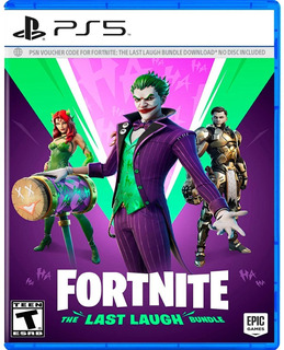 ..:: Fortnite Dc The Last Laugh Bundle ::.. Ps5 Gamecenter