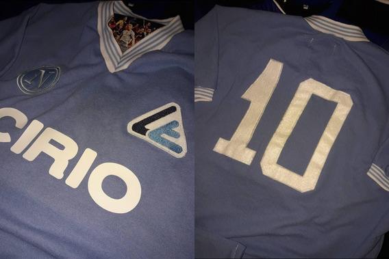 Camiseta Debut Diego Maradona Napoli Cirio 1984 !!!