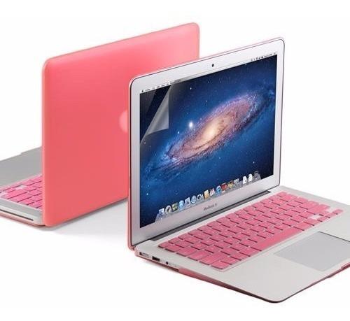 Combo 3x1 Macbook Air 13 Capa Case Protetor Tela A1369 A1466