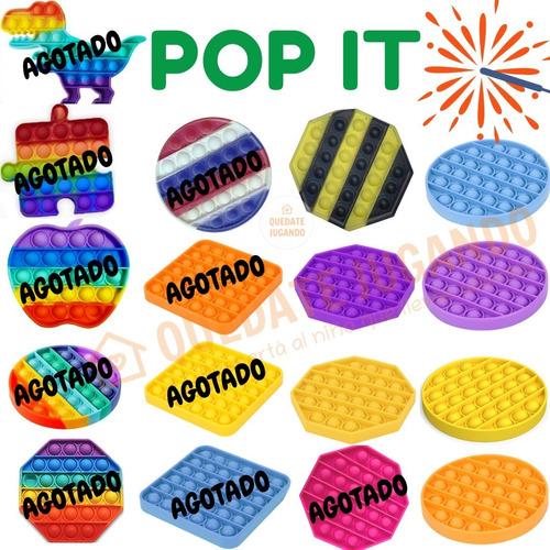 Juego Pop It Fidget Toy - Multicolores