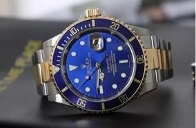 Relógio Masculino Preto Azul Prata Dourado Promoção