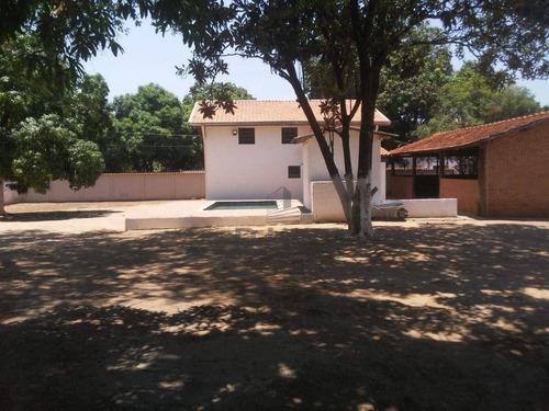 Imagem 1 de 30 de Chácara Com 3 Dormitórios À Venda, 2355 M² Por R$ 900.000,00 - Barão Geraldo - Campinas/sp - Ch0475