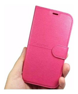 Capinha Carteira Flip Cover Courino Novo Galaxy A71 Tela 6.7
