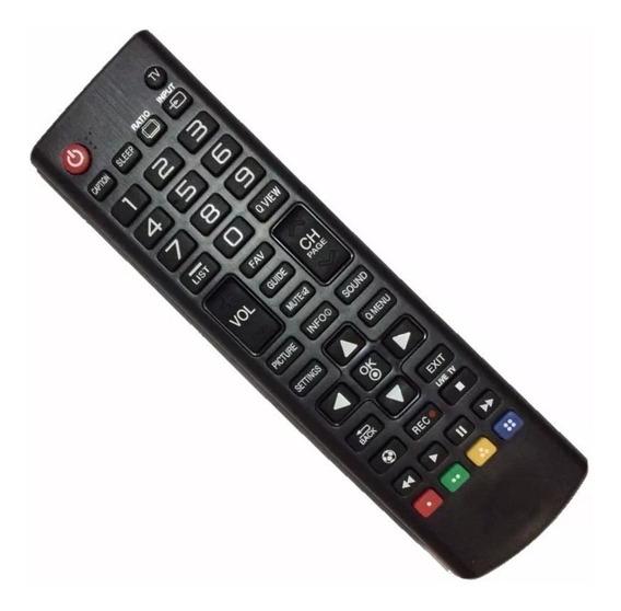Controle Tv Lg Lcd Para Akb74475411 E Akb73715682