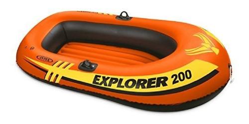 Bote Inflable Para 2 Personas Intex Explorer 200