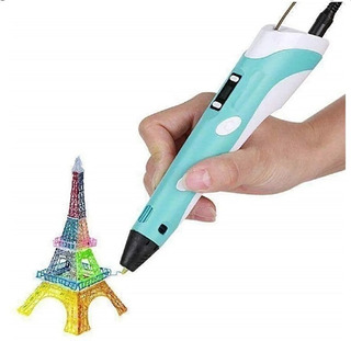 Lápiz 3d Impresora Lapicera 3d Lcd Base De Regalo Filamentos