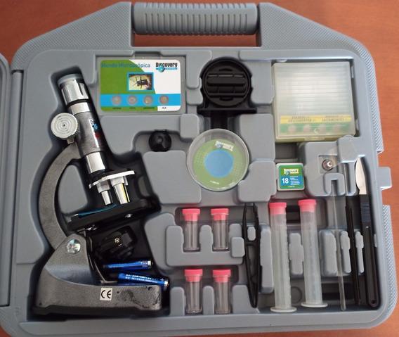 Kit Microscópio Discovery