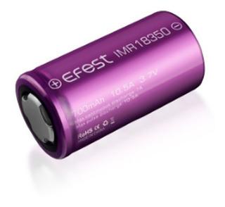 Pila Bateria Recargable 18350 700mah 10.5a Efest Linternas