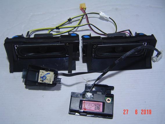 Kit Botao Menu E Auto Falantes Tv Un32j4300ag