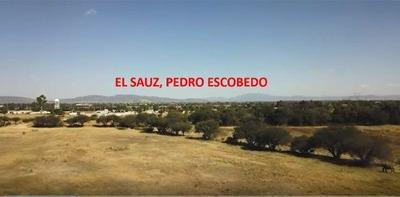 Mta/ Terreno En Pedro Escobedo, A 60 M De Carretera México-qro
