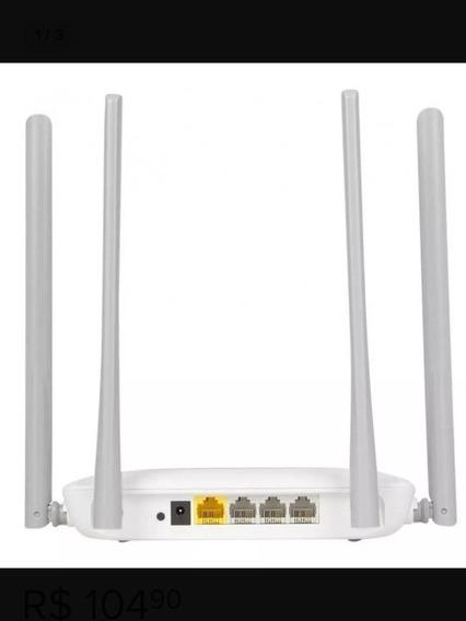 Roteador Wifi Mercusys 300mpbs Alc300m 4 Antenas 5dbi Novo