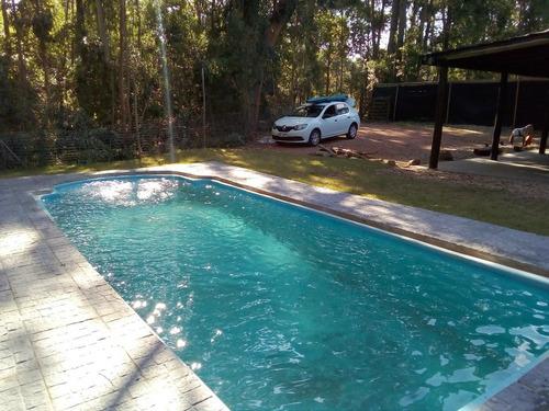 Casa Punta Del Este- Piscina - Parrillero  - Finde - 6 Pax