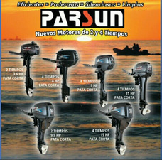 Motores Parsun Distribudor Oficial Envios A Todo El Pais !!!