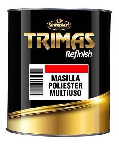 Trimas Masilla Poliester Multiuso - 4kgs
