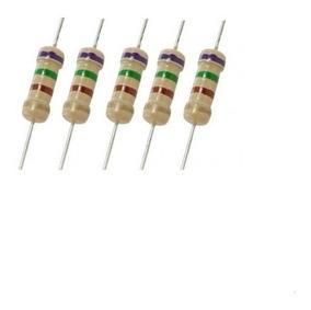 Lote Resistores 750 Ohms - 100 Peças