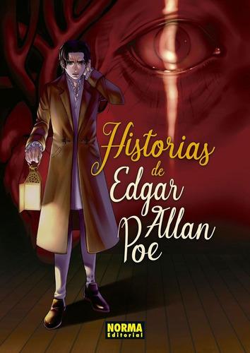 Imagen 1 de 8 de Historias De Edgar Allan Poe.  Clásicos Manga.